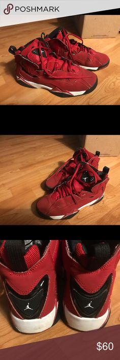 huge discount a7e37 522f7  FINAL  Boy s Nike Air Jordan True Flight, Size 7  FINAL Reduction,