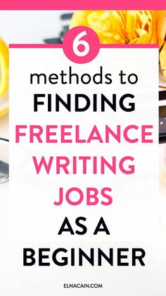 New to freelance writing? Need to find a freelance writing job like yesterday? But you just now clue. Well, as a beginner here are 6 proven methods to get your first freelance writing job. Online Writing Jobs, Freelance Writing Jobs, Online Jobs, Freelance Online, Online Income, Business Motivation, Business Tips, Online Business, Make Money Writing