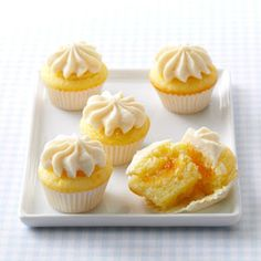 Orange Dream Mini Cupcakes Recipe from Taste of Home