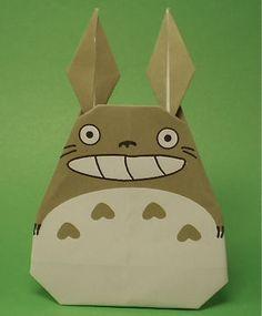 Totoro 【折り紙】ジブリの折り方・作り方《となりのトトロ、ポニョ、猫バス》
