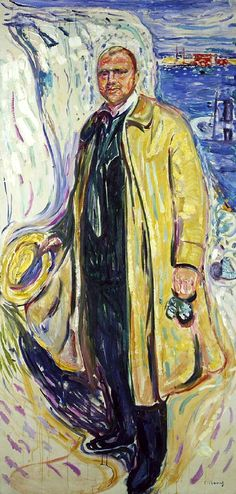 Edvard Munch (Norwegian, 1863 - 1944)  Christian Gierlöff, Author
