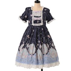 ♥ BABY THE STARS SHINE BRIGHT ♥ Starry moonlit night of siren pattern Dress http://www.wunderwelt.jp/products/detail7047.html If you like this item please check this page ♡ #egl