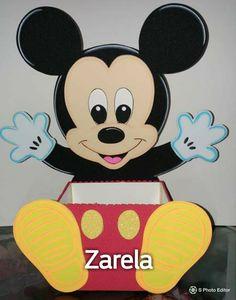 Miki Mouse, Mickey Party, Ideas Para Fiestas, Cute Cartoon, Walt Disney, Flamingo, Baby Boy, Homemade, Disney Characters
