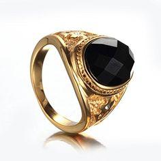ジュエリー ファッション アクセサリー メンズ リング 指輪, クラシック,ジルコン ダイヤモンド,ステンレス,カ…