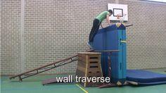 Wall traverse