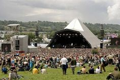 In no particular order on the bucket list:              1. Glastonbury music festival