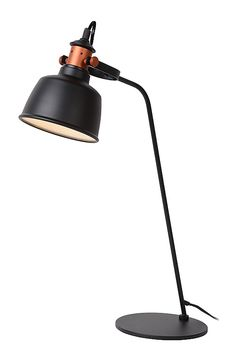 #tablelamp #black #copper #industrial #modern #tjoll #lucide #interior #lighting #design #home #living selected by #cuuluu