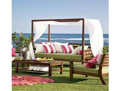 Modern Wooden Style Pottery Barn Outdoor Furniture Design