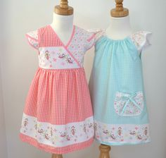 Butterfly Dance by Cinderberry Stitches for Riley Blake Designs. Dress Patterns by Olive Ann Designs & Fabric Pixie.