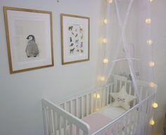 Vuodekatos pinnasänkyyn, nursery decor