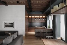 New render images for an interior project Photorealistic Rendering, Interior Architecture, Interior Design, 3 D, Kitchen Decor, Innovation, Modern, Pisa, Furniture