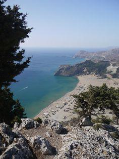 Tsambika Beach -Rhodes - Greece