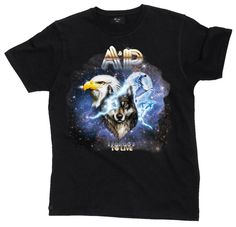 Kulte x Anaïs et Pedro  Best T-shirt Ever ! #wolf #eagle #unicorn #dolphins #galaxy #hardrock #tourshirt #tshirt #tee #shirt #rocknroll