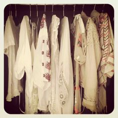 Top section of a capsule wardrobe for an Ibiza holiday... So pretty!