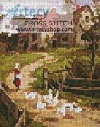 Mini Berkshire Homestead Cross Stitch Pattern http://www.artecyshop.com/index.php?main_page=product_info&cPath=74_81&products_id=986