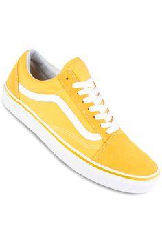 Vans Old Skool Shoe (spectra yellow true white)