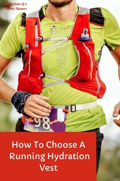 How to choose a running hydration vest -Summer Running