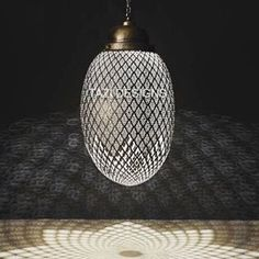 This Large Egg Shape Br Pendant Sphere Lamp From Morocco Is Part Of Tazi Designs Modern Moroccan Lighting