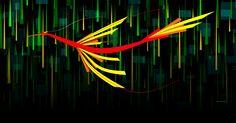El pájaro de fuego  #arte #artecontemporáneo #diseño #desing #art #ilustracion #artedigital #ilustration #RicardoCadet #hechoenVenezuela #madeinVenezuela