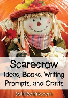 Scarecrows are such a fun part of fall! Discover scarecrow ideas, books, writing prompts, printables and crafts!