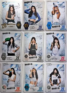 SNSD Girl's Generation Casio 2014 Baby G