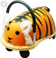 Prince Lionheart Wheelytiger Yellow/black - The wheelyTIGER from Prince Lionheart is an adorable plush toy that features wheels on the bottom so this tiger can go exploring with your child. It's also great way to encourage motor skills development. Toys For Little Kids, Kids Toys, Prince Lionheart, Thing 1, Ride On Toys, Little Critter, Gross Motor Skills, Baby Center, Yellow Black