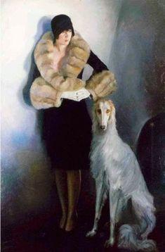 Painting by Warren A. Greyhound Art, Whippet, Dog Portraits, Dog Art, Figurative Art, Beautiful Creatures, Painting & Drawing, Modern Art, Illustration Art