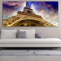 Πανοραμικός πίνακας σε καμβά ο πύργος του Άιφελ Tower, Building, Travel, Viajes, Computer Case, Buildings, Towers, Trips, Construction