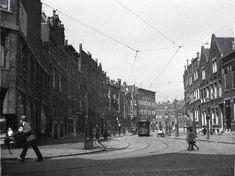 Insulindestraat gezien vanaf de bergweg 1933 (bij Rotterdam, Netherlands)