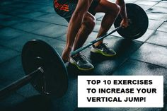 Here are the Top 10 exercises you can add to your workout to increase your vertical jump. If your goal is to jump higher these exercises are perfect Body Weight, Weight Lifting, Weight Loss, Losing Weight, Fitness Journal, Fitness Planner, Workout Planner, Workout Journal, Workout Bauch