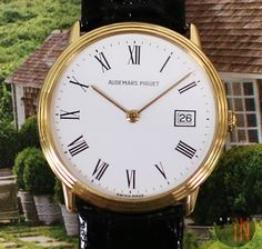 Audemars Piguet Watches, Old Watches, Mechanical Watch, Gold Dress, Old Things, Essentials, Quartz, Yellow, Gallery
