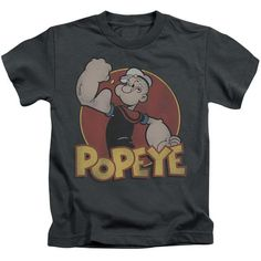 Popeye: Retro Ring Juvy T-Shirt - NerdArmor.com