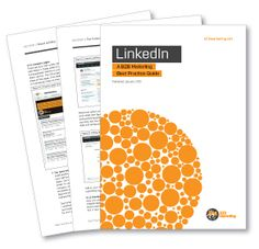LinkedIn Best Practice Guide - really useful tips and approaches to using #LinkedIn #socialmedia #business