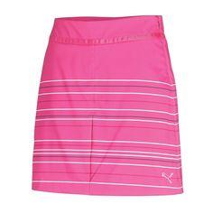 Puma Women's Line Stripe Golf Skirt #golf4her #golfclothes #fall
