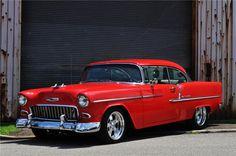 Sold* at Las Vegas 2013 - Lot #655 1955 CHEVROLET BEL AIR COUPE