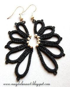 Earrings ****I could see these as wings for butterflies, angels, birds...****