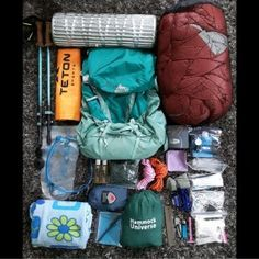Appalachian Trail Thru Hike Gear List | Appalachian Trials