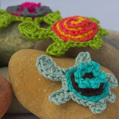 Turtle applique ~ free pattern