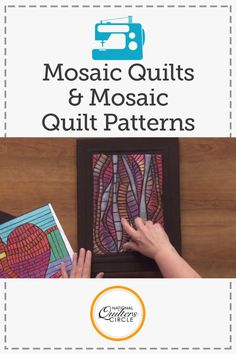 Heather Thomas teaches you her unique and easy method for making mosaic quilts. Learn how to create your own mosaics and see several examples of her mosaic quilts. Find out how fun and exciting mosaic quilting can be since this technique allows you to make anything you'd like! Use these tips to start a new quilt that is full of mosaic pieces.