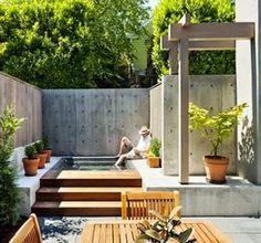 Fantastic minimalist outdoor space | Outdoor Areas