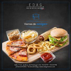 Tenemos la solución para empezar el fin de semana. info@edag.edu.mx