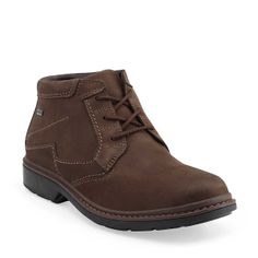 Rockie Hi Gtx in Brown Nubuck - Mens Boots from Clarks