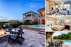 Southern Exposure - Gorgeous Reunion Villa with South Facing Pool, Extended Deck and Conservation View