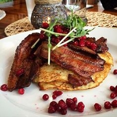 Potato pancake with bacon | 52 Delicious Swedish Meals You Need To Try Before You Die