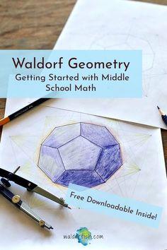 Rudolf Steiner and Waldorf education place the utmost importance on the Geometry curriculum and have created a different path for students than the typical math curriculum offers.The three-fold approach to learning (doing, feeling, thinking) is beautifully displayed in the geometry curriculum. | Waldorf education | waldorf math | homeschool | homeschooling | homeschool math | qualities of numbers | Fibonacci sequence | golden spiral | freehand geometry | math curriculum | waldorf math… Waldorf Math, Waldorf Curriculum, Waldorf Education, Homeschool Math, Homeschooling, Three Fold, Middle English, Curriculum Planning, Geometric Drawing