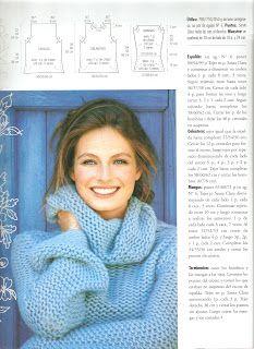 Crochet Poncho, Knit Fashion, Crochet Clothes, Album, Pullover, Knitting, Cami, Sweater, Ideas