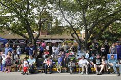 More than 3,000 people lined Railroad Ave to watch the grand parade Saturday morning, 2012.