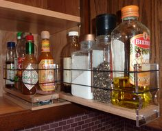 Spice Rack Nj Unique 15 Creative Spice Storage Ideas  Pinterest  Clever Organizing And