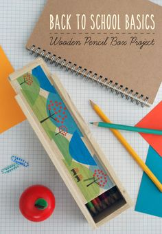 Back to School Project: DIY Wooden Pencil Box Tutorial