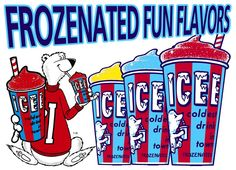 """Retro Bear; Coke Icee is the best! I will drive across town to get one, and I do know of the 3 places in town that have them (just in case the """"ready"""" light is off :))."""